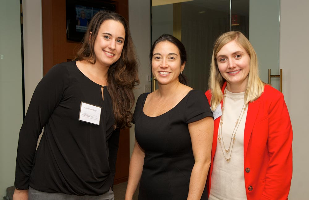 Meghan Taira, Board Member and Current Fellow with Adrianna and Lydia
