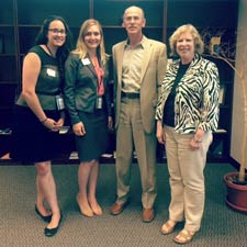 2015 Fellows Adrianna McIntyre, Lydia Orth, Rick Kronick, PhD, & Sharon Arnold, PhD, from AHRQ
