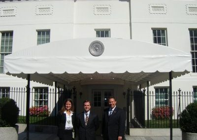 2008 Fellows, Andrew Roszak& Kelly Whitener with Patrick Alyward